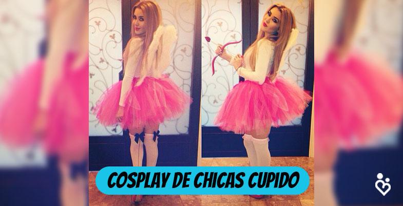 COSPLAY DE CHICAS CUPIDO